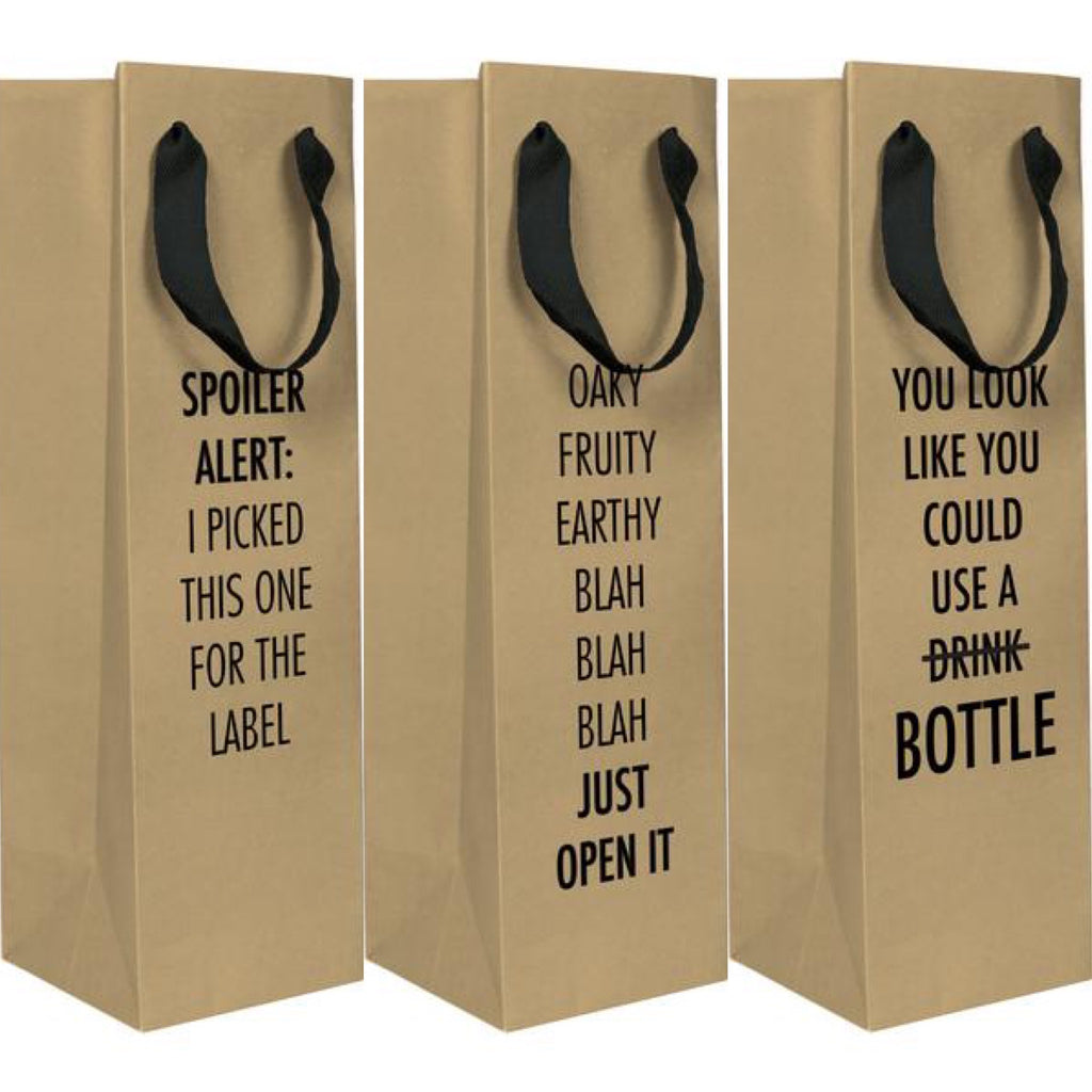 Whimsy Wine Bags (3 styles)