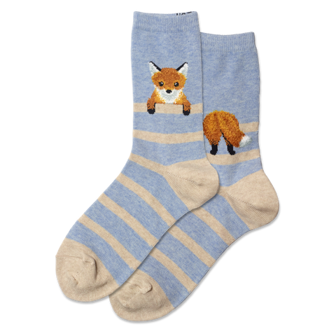Fuzzy Fox Socks (women's)
