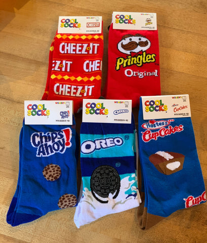 Women's Snacks Socks (5 styles)