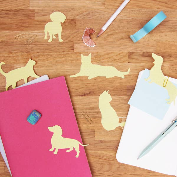Cat & Dog Sticky Notes