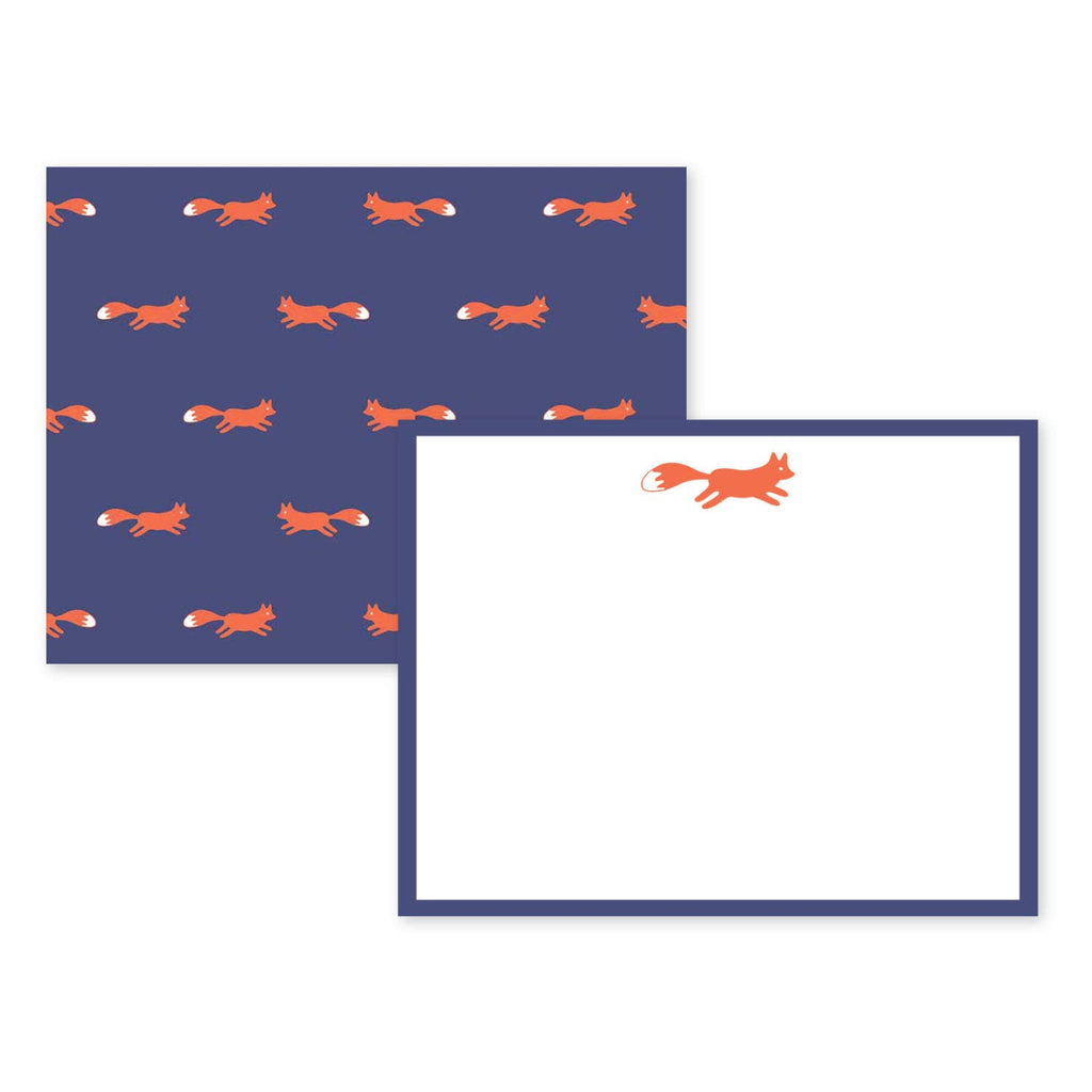 Fox & Horse Note Card Sets