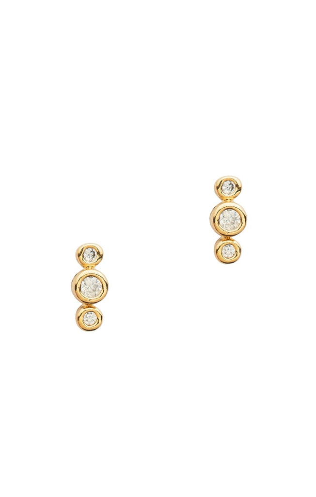 Three Dot Earrings