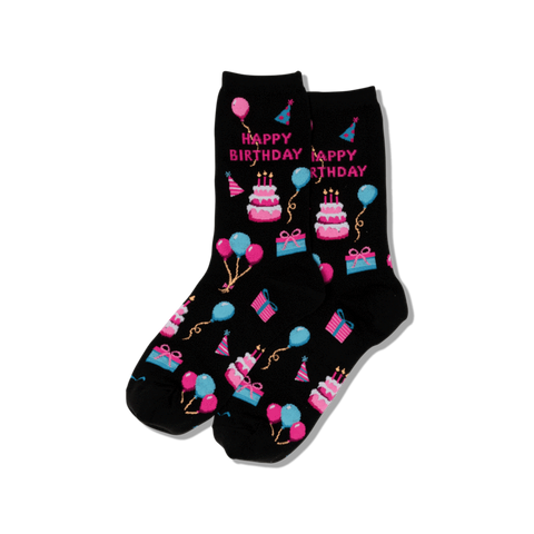 Happy Birthday Socks (Women's)
