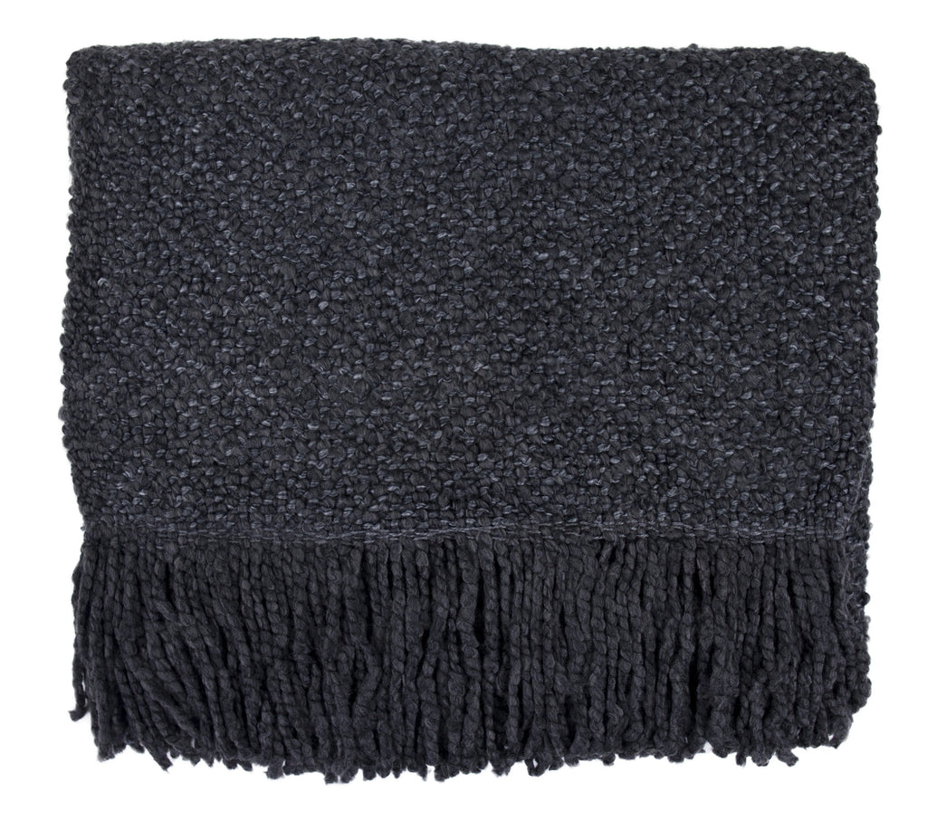 Campbell Charcoal Throw
