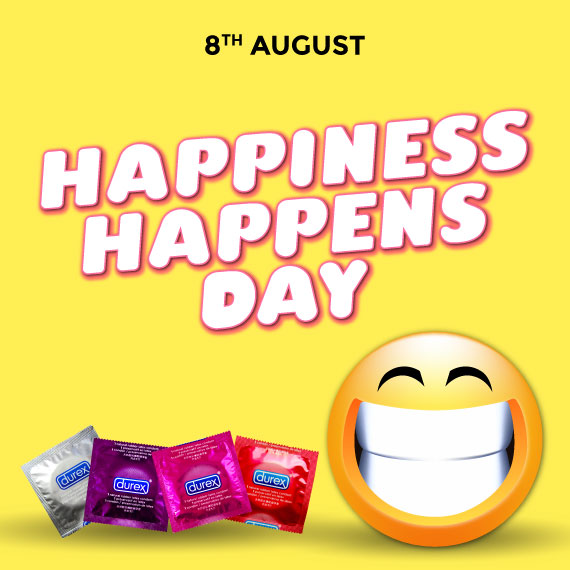Happy days are waiting with Durex Fun explosion condoms