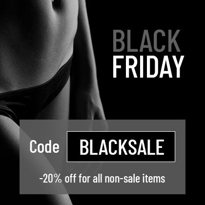 black friday sale -20% for all condoms and lubricants
