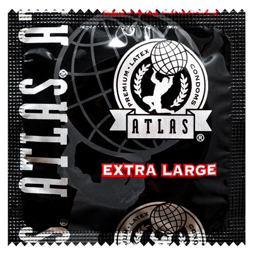 Atlas Extra Large Condoms | WorldCondoms