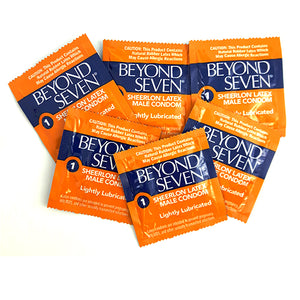 beyond seven lightly lubricated condoms 12 PCS