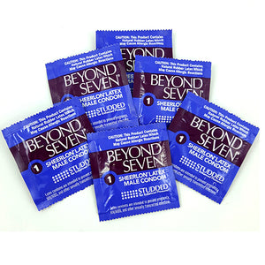 beyond seven studded condoms 12 PCS