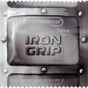 Caution Wear Iron Grip