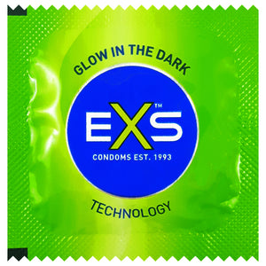 EXS Glow condoms