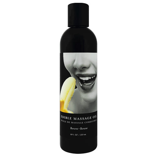 earthly body banana edible massage oil 60ml Bottle