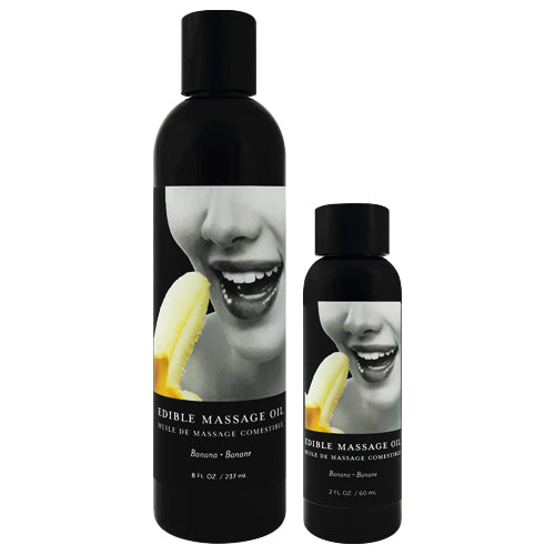 Earthly Body Banana Edible Massage Oil