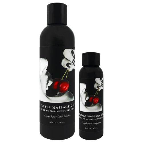 Earthly Body Cherry Edible Massage Oil