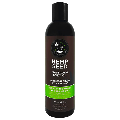 Earthly Body Hemp Seed Naked in the Woods Oil 237ml