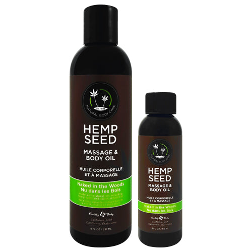 Earthly Body Hemp Seed Naked in the Woods Oil