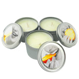 Earthly Body Massage Candle Tropical Threesome 3x57g