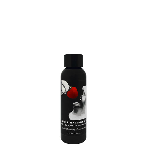 Earthly Body Strawberry Edible Massage Oil 60ml