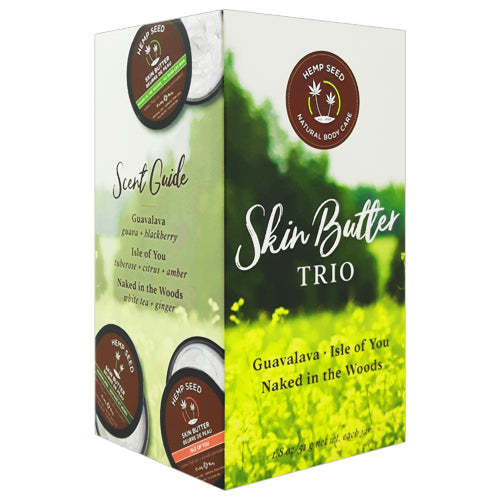 Earthly Body Skin Butter Trio 3x51g gift box