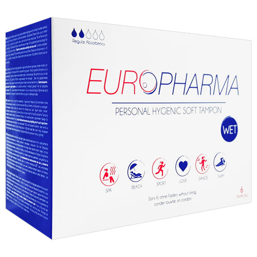 Europharma Tampons WET Box 6