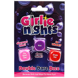 Girlie Nights Double Dare Dice Game front