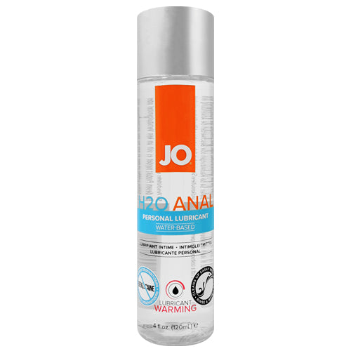 System JO H2O Anal Warming 120ml