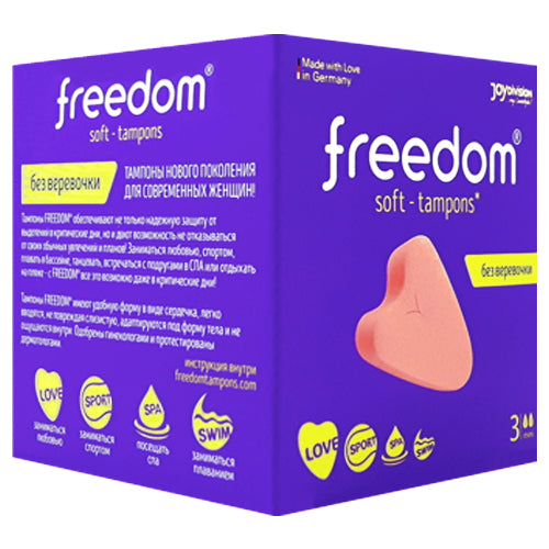 Freedom Soft-Tampons Mini Box 3