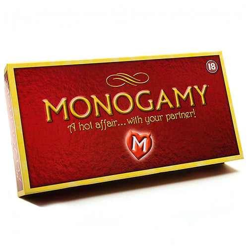 Monogamy Adult Couples Board Game front