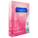 Pasante Female Condoms Box 3