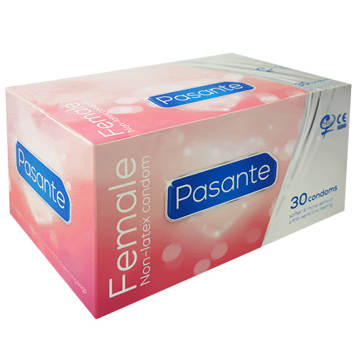 Pasante Female Condoms Box 30