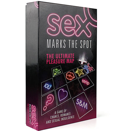 Sex Marks the Spot Board Game front