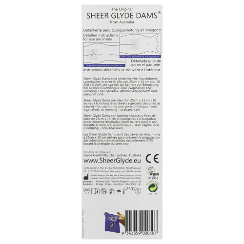 Sheer Glyde Dams Wild Box 4 back