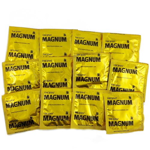 trojan magnum condoms 24 PCS