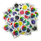 trustex assorted colors non lubricated condoms
