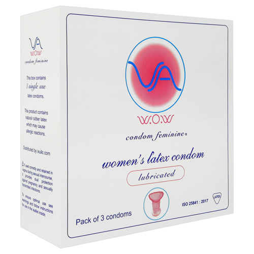 VA W.O.W female condom Box 3