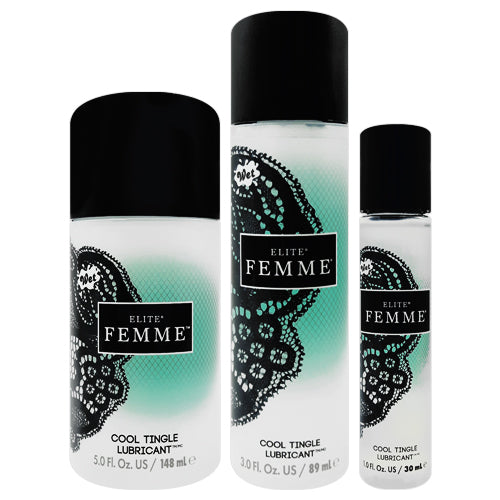 Wet Femme Elite Cool Tingle lubricant