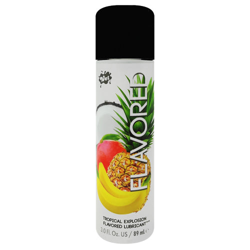 Wet Flavored Tropical Explosion lubricant 89ml