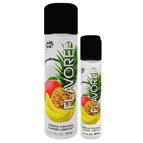 Wet Flavored Tropical Explosion lubricant