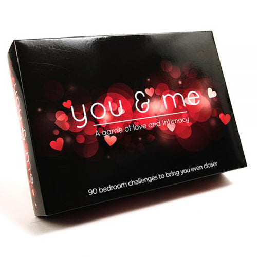 You & Me Adults Game front