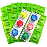 crown assorted colors condoms 100 PCS