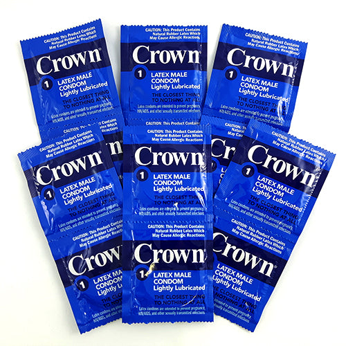 crown lightly lubricated condoms 24 PCS