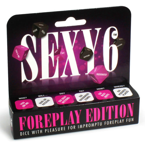 Sexy 6 Foreplay Edition Dice Game front