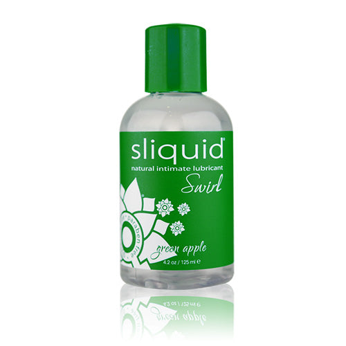 Sliquid Green Apple 125ml | WorldCondoms
