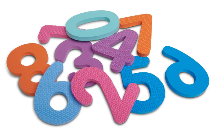 Foam Numbers 0 - 9 (50 Assorted Pack)