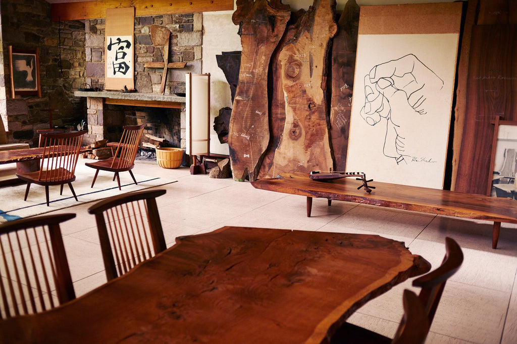 The World of Métier: George Nakashima Woodworkers