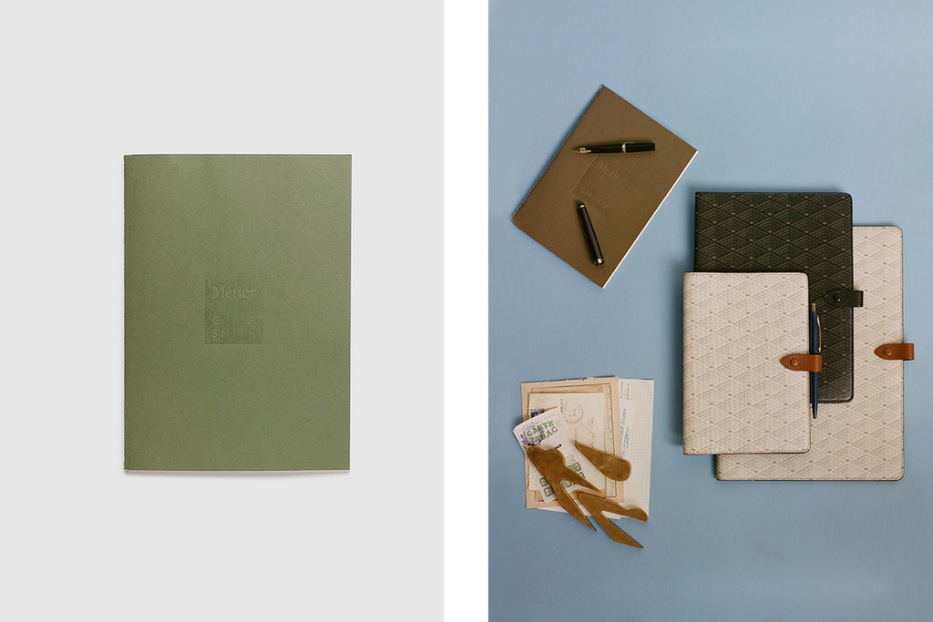 How It's Made: G.F Smith x Métier Notebooks