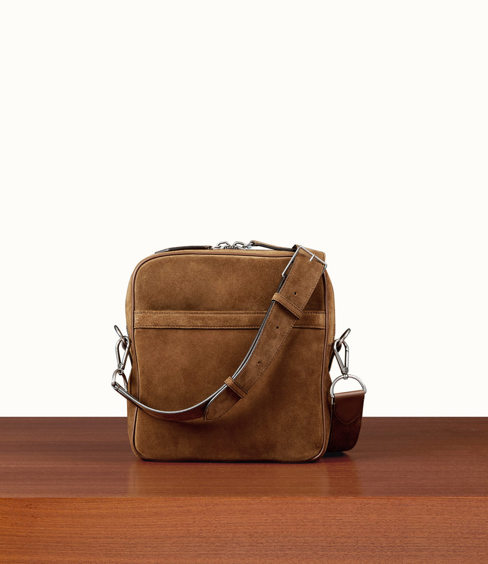 Wanderer Cross Body Suede Marrakech