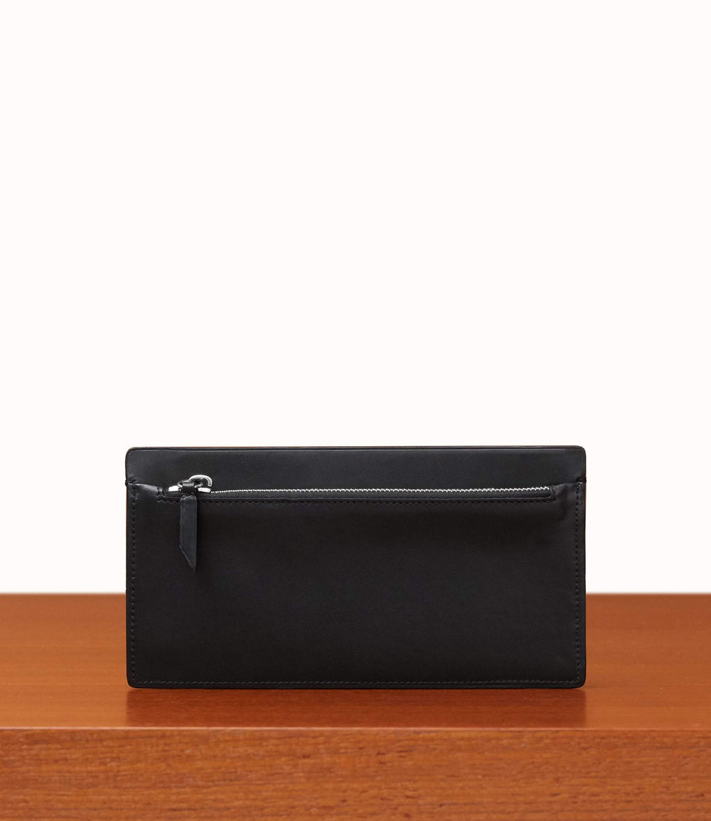 Inside Out Wallet Atelier Calfskin Black