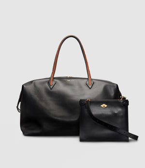 Perriand Weekend and Stowaway Crossbody Atelier Calfskin Black