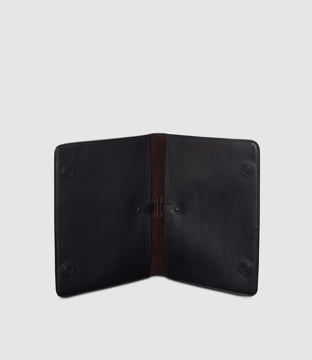 Metropolitan Laptop Case Suede Black
